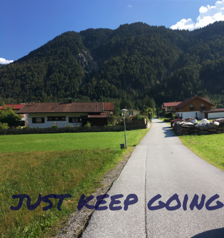 Friday Morning Motivation – #keepgoing